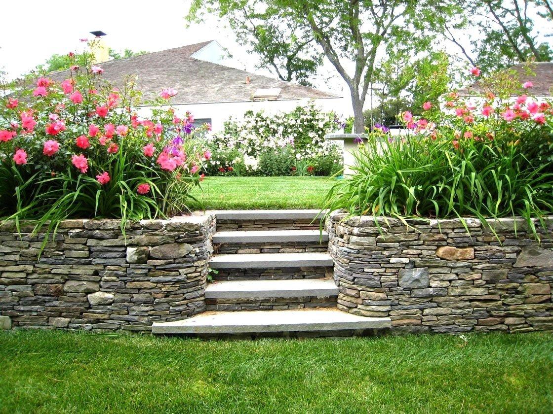 10 Lovable Landscape Ideas For A Slope front yard landscape ideas on slope the garden inspirations 2021