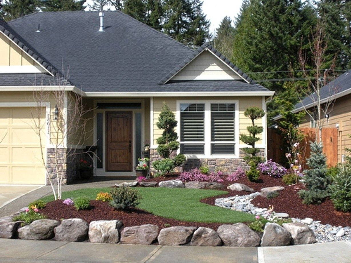10 Perfect Front Yard Landscaping Ideas For Ranch Style Homes front yard landscaping ideas for ranch style homes pictures 2 2021