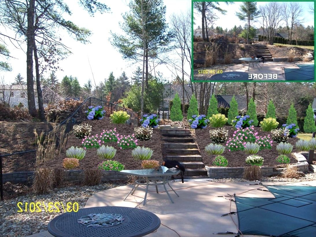 10 Lovable Landscape Ideas For A Slope front yard landscaping ideas on a slope the garden inspirations 2021