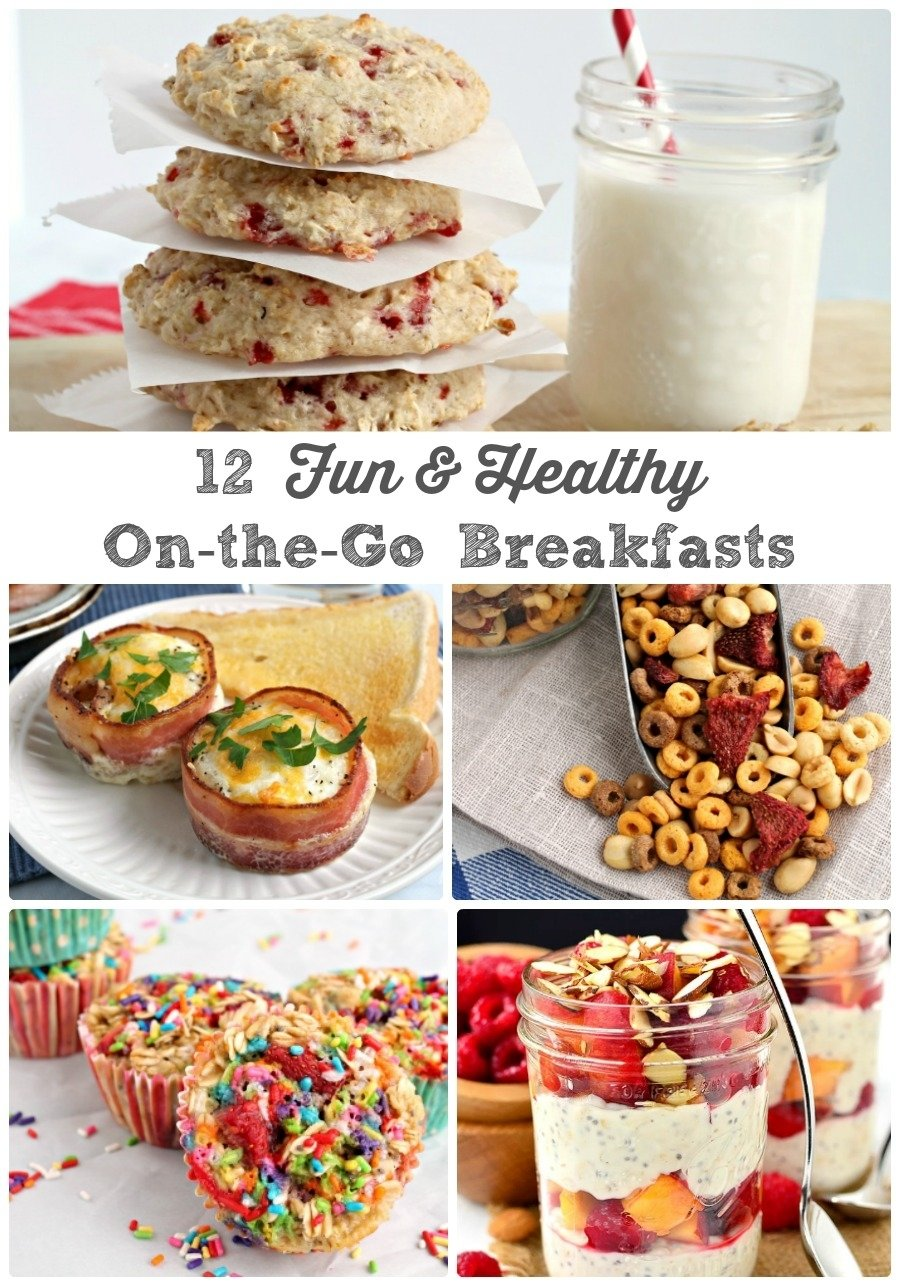 frugal foodie mama: 12 fun & healthy on-the-go breakfast ideas