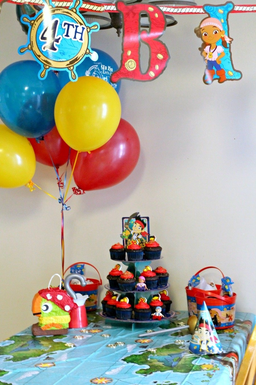 10 Awesome Jake And The Neverland Pirate Party Ideas frugal foodie mama throwing a jake and the neverland pirates 6 2020