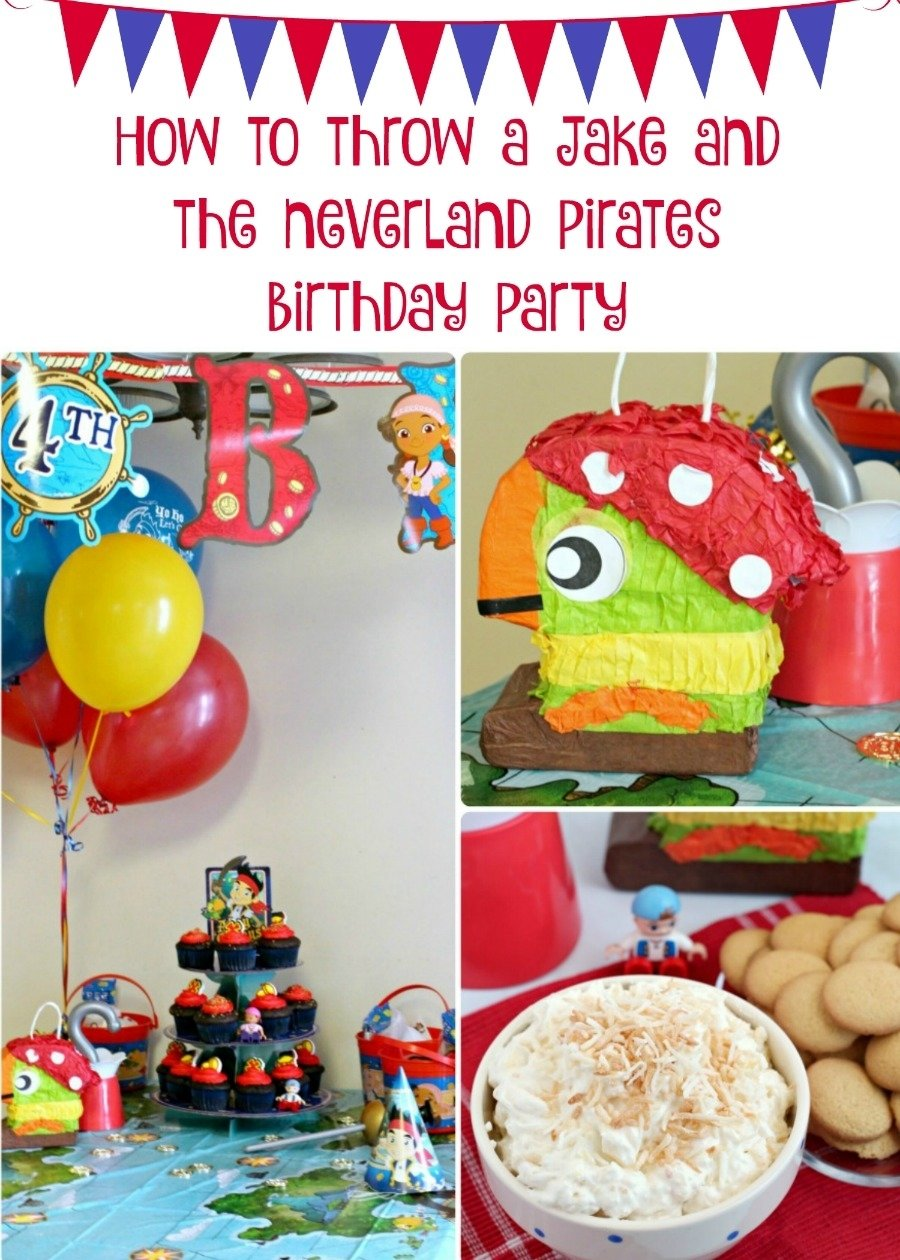 10 Pretty Jake And The Neverland Pirates Birthday Party Ideas frugal foodie mama throwing a jake and the neverland pirates 2020