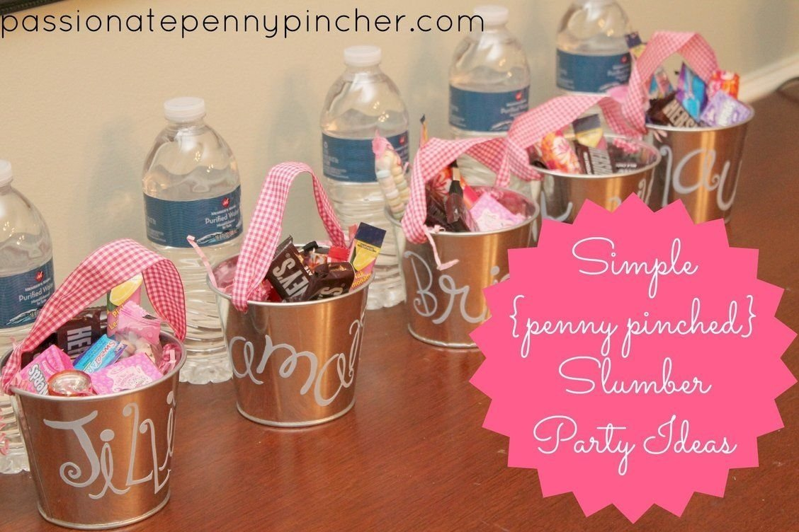 10 Fashionable Slumber Party Ideas For Girls frugal slumber party ideas slumber parties sleepover and frugal 2020