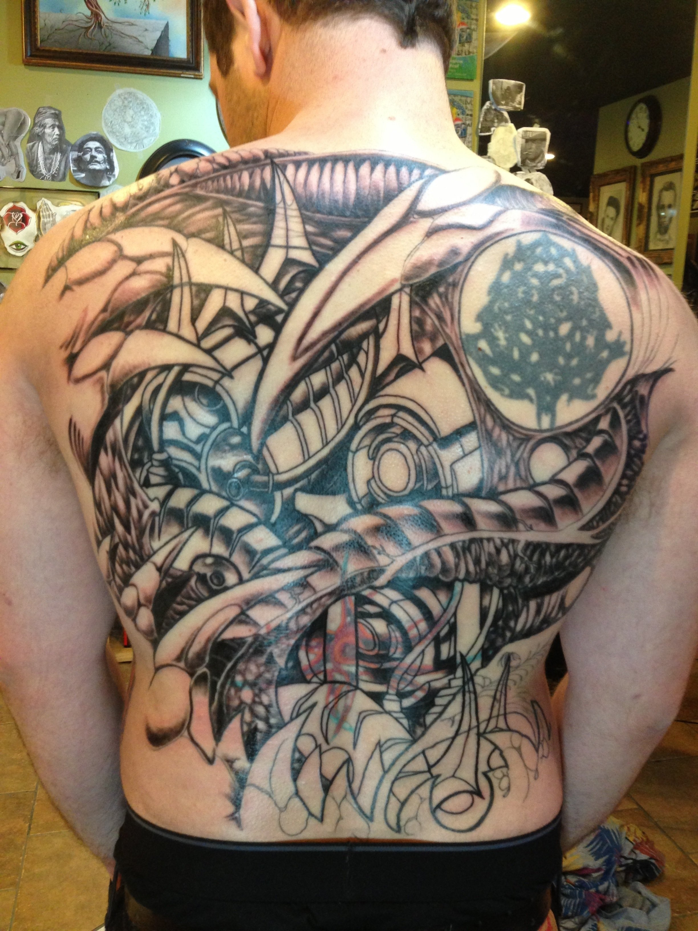full back tattoos for men ideas | cool tattoos | pinterest | tattoo
