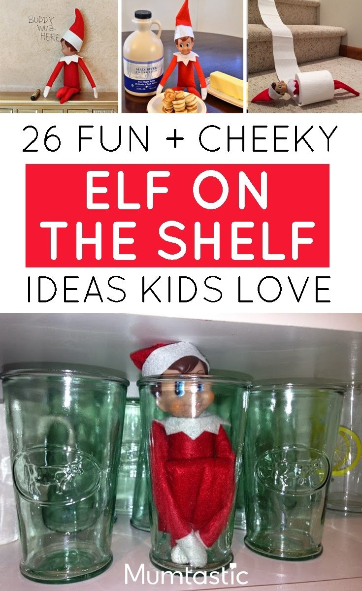 10 Fantastic Elf On The Shelf Ideas For Toddlers fun and cheeky elf on the shelf ideas kids love 2021