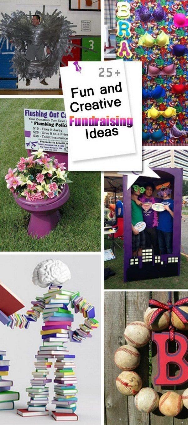 10 Beautiful Ideas To Raise Money For School fun and creative fundraising ideas fundraising ideas pinterest 2
