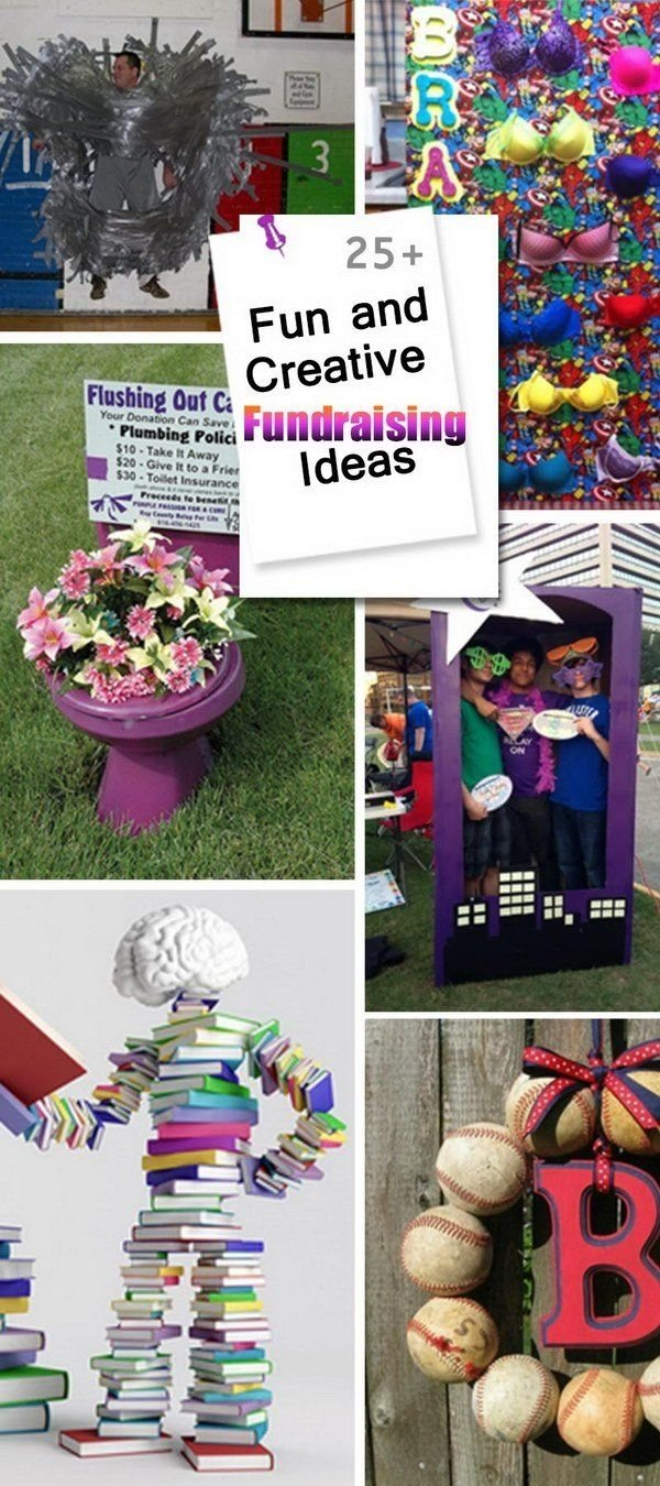 10 Nice Fundraising Ideas For College Clubs fun and creative fundraising ideas fundraising ideas pinterest 2021
