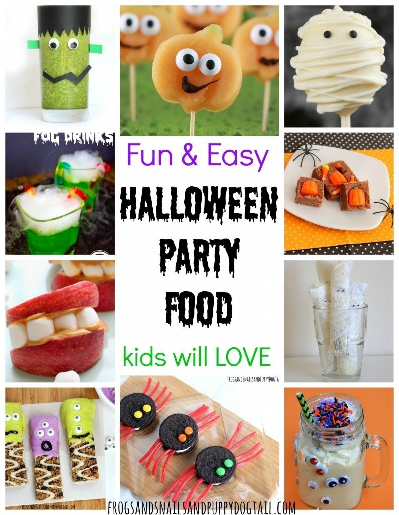 10 Beautiful Halloween Treat Ideas For Kids Party fun and easy halloween party food fspdt 2020