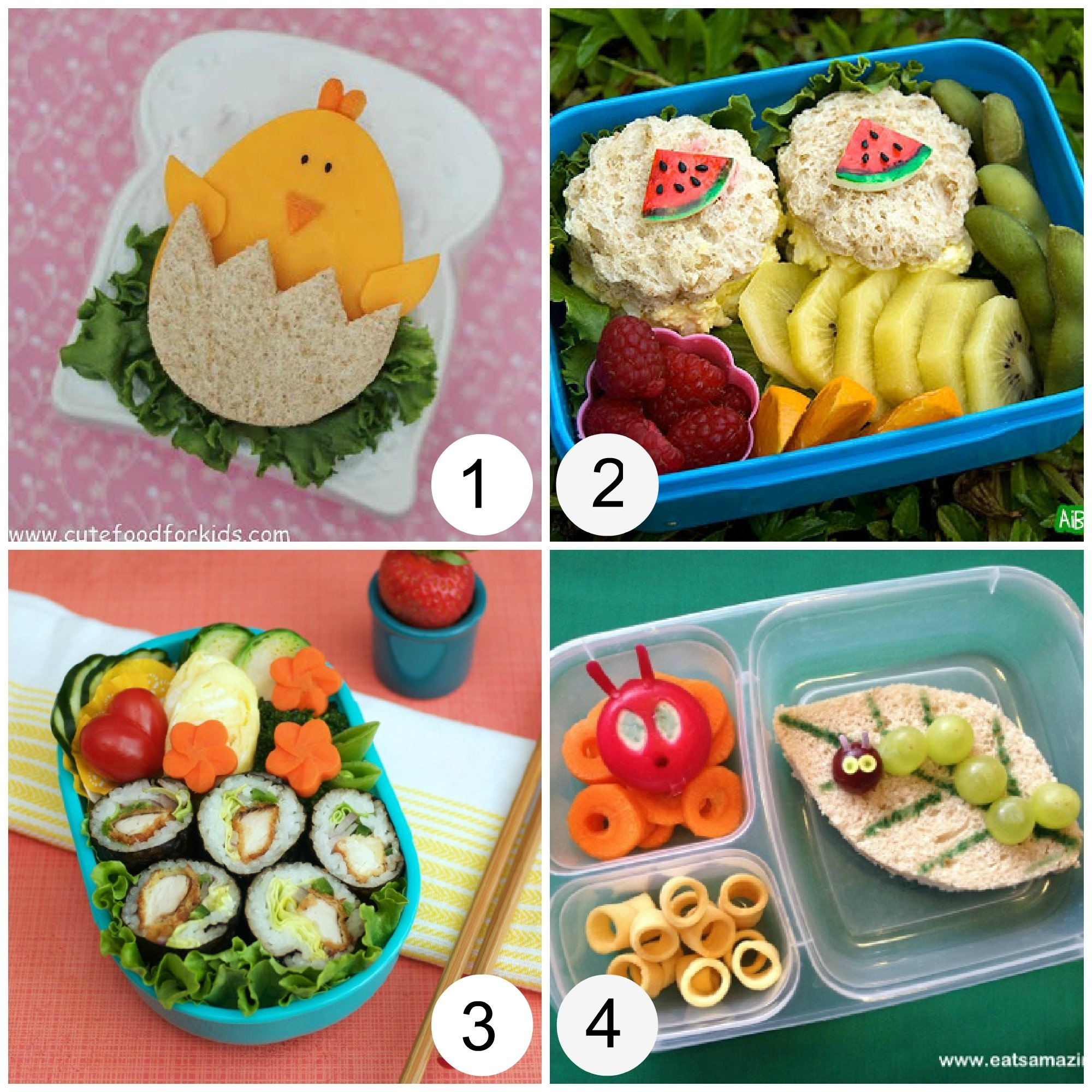 10 Fashionable Bento Box Ideas For Kids fun and easy spring and easter bento boxes blissfully domestic 2020