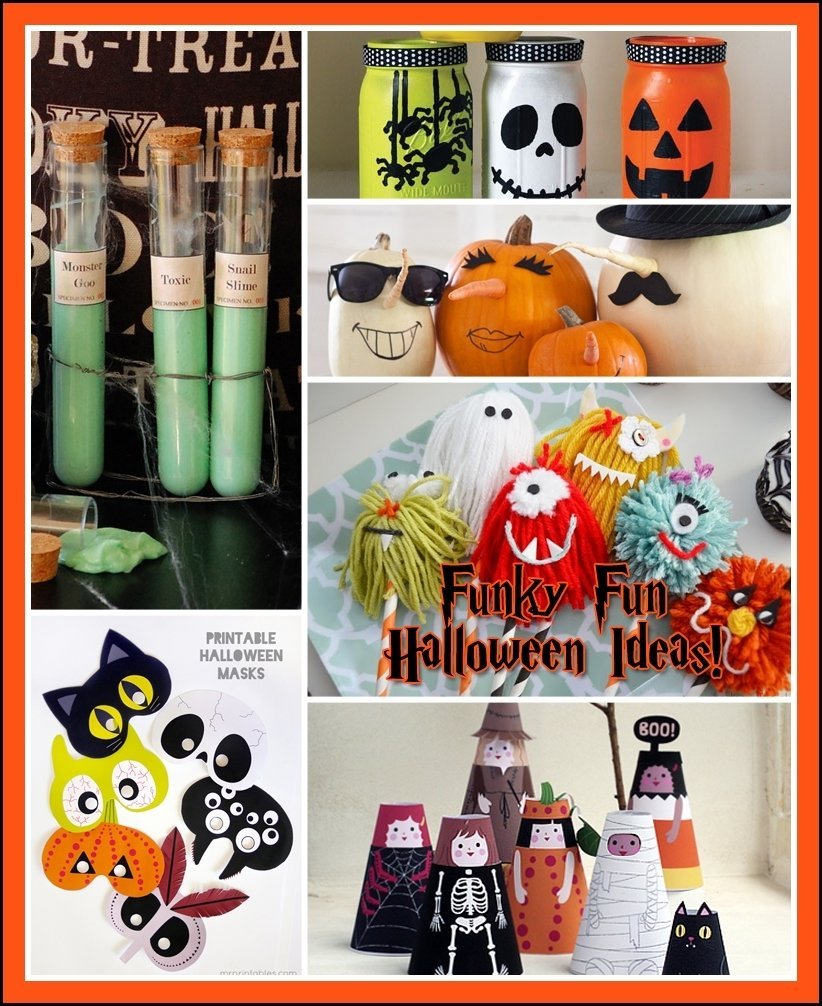 fun and funky halloween ideas the kids will love - the cottage market
