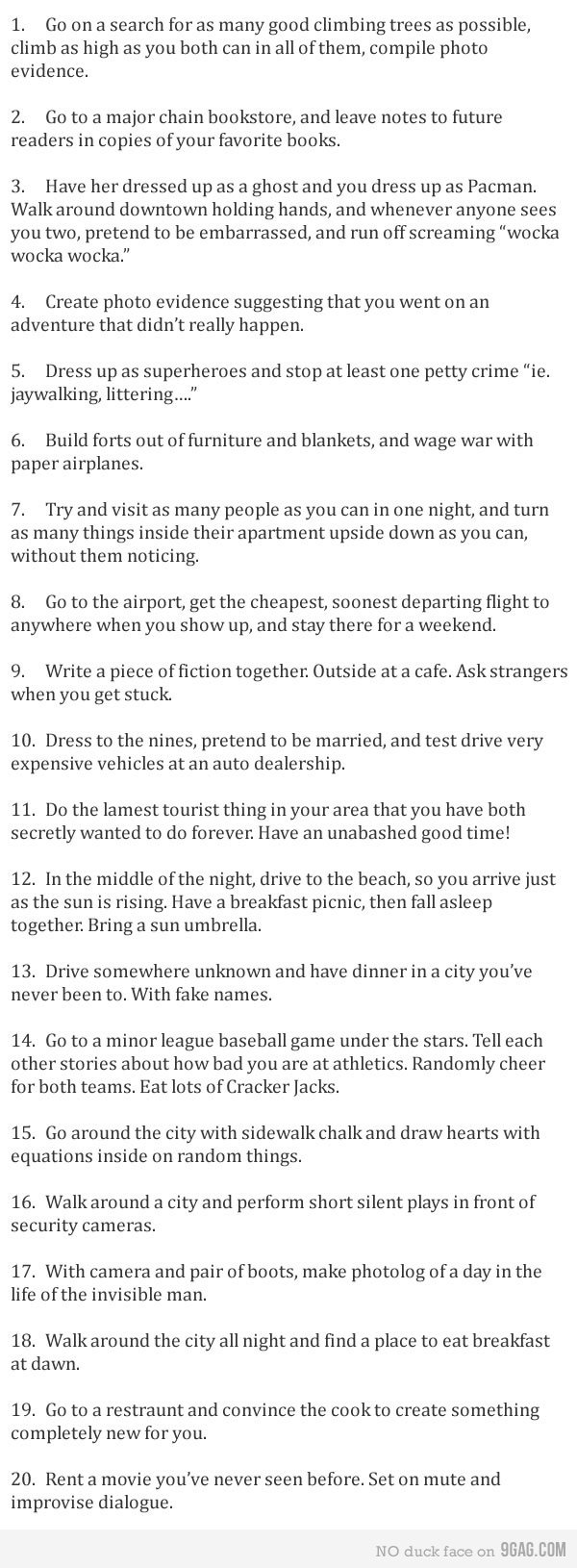 10 Unique Good Date Ideas For Guys fun and unusual date ideas perfect guy fun things and guy 2020
