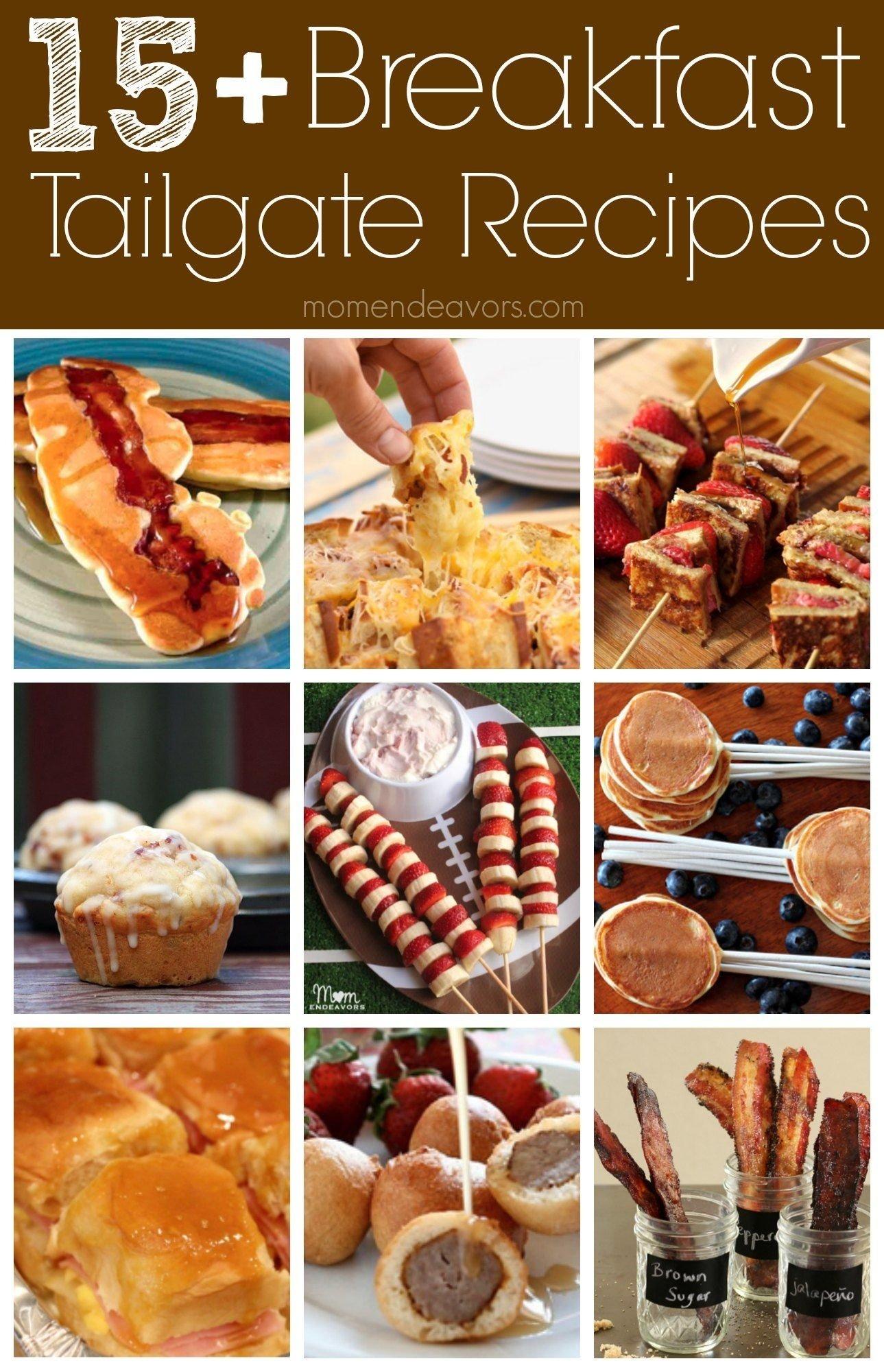 10 Pretty Breakfast Ideas For Work Party fun breakfast tailgate recipe ideas college football tailgate party 4
