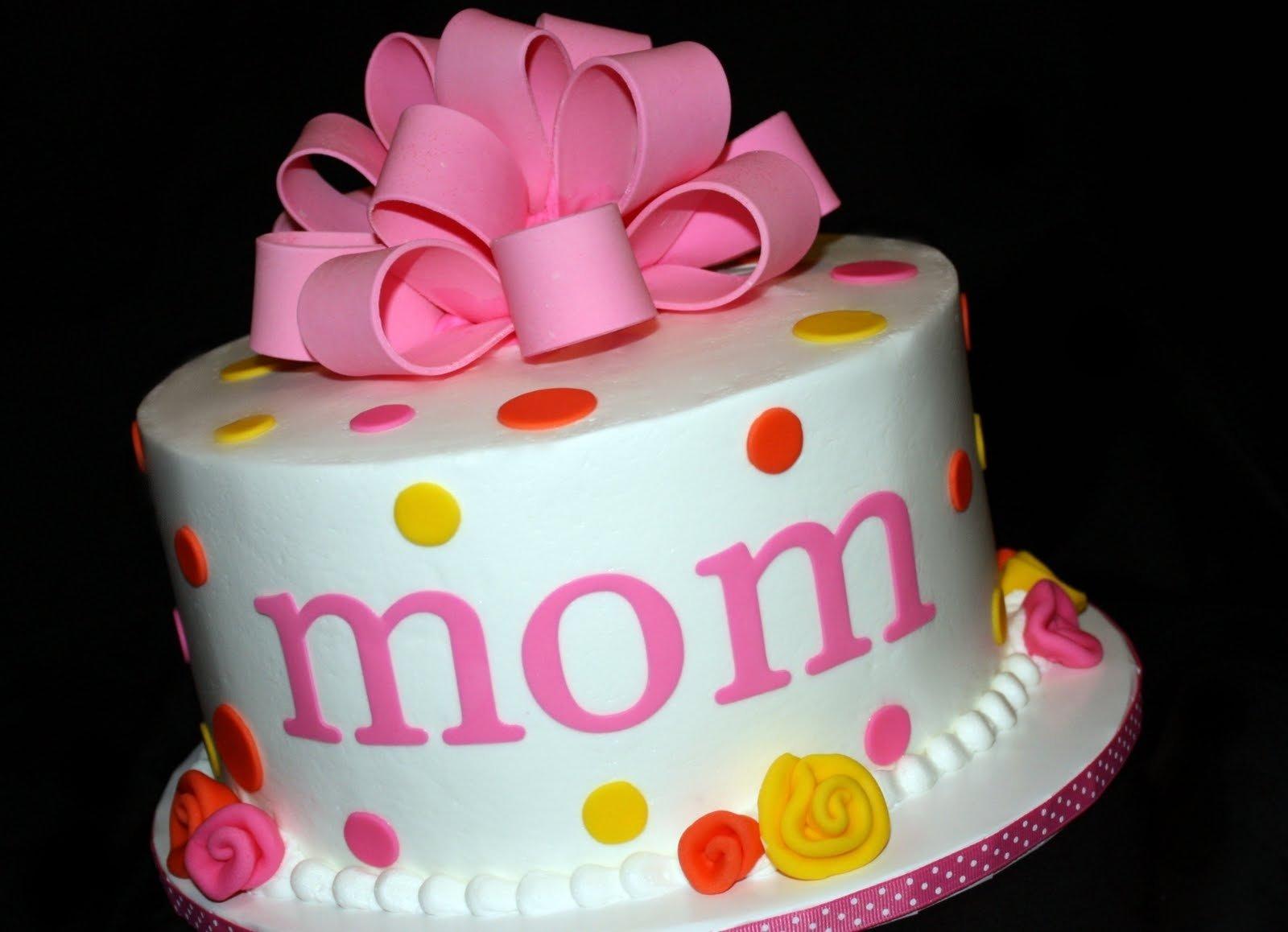 10 Fashionable Birthday Cake Ideas For Mom fun cakes mom birthday cake fun cakes pinterest mom birthday 2021