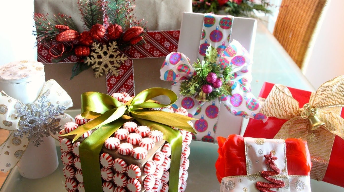 10 Unique Gift Wrapping Ideas For Christmas fun creative gift wrapping ideas youtube