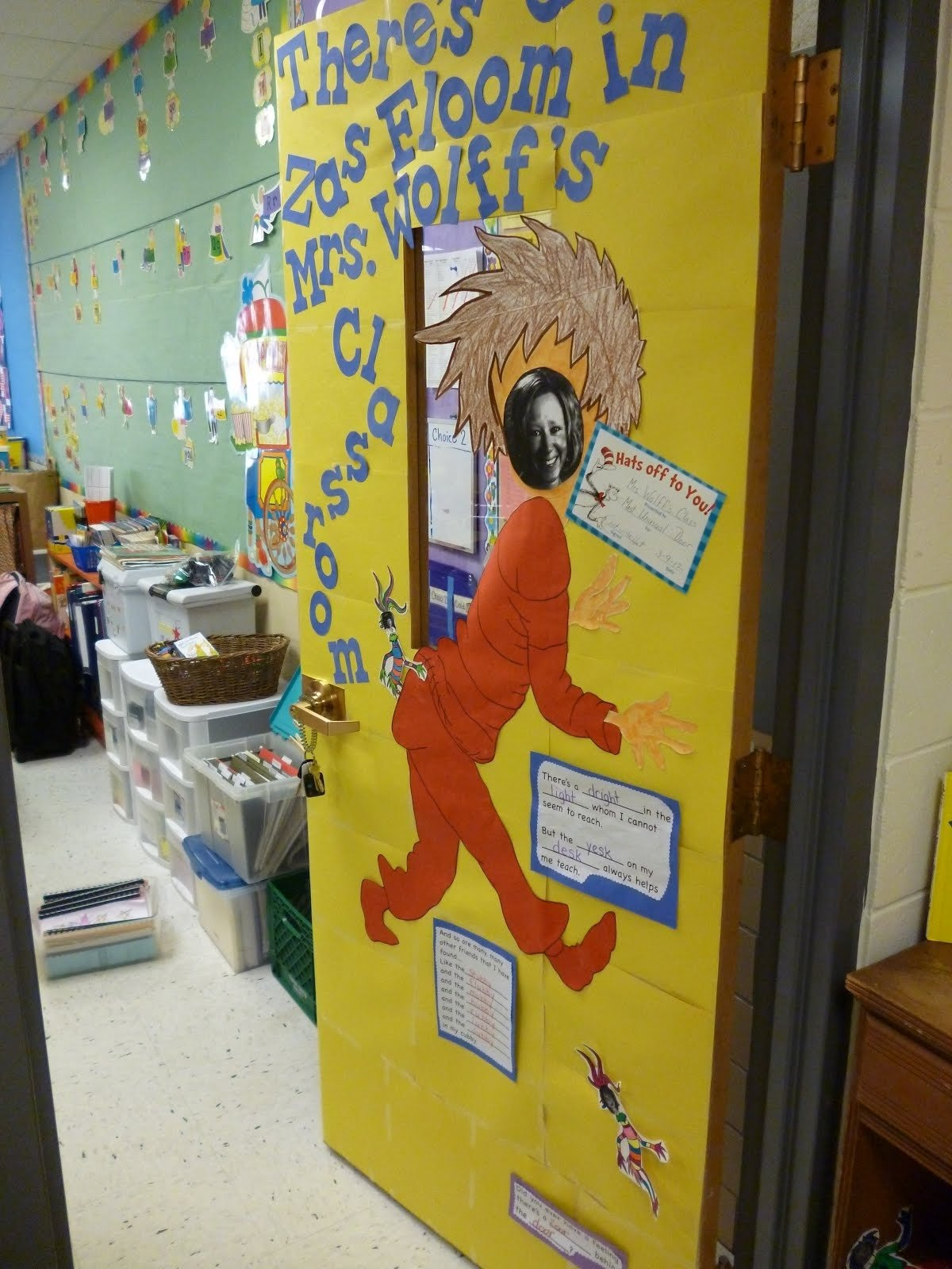 10 Most Popular Dr. Seuss Door Decorating Ideas fun dr seuss door decor crafthubs artistic freedom decorating 2021