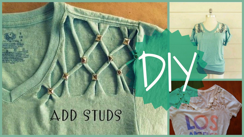 10 Gorgeous Diy T Shirt Design Ideas fun easy diy t shirt idea for the summer youtube 2020