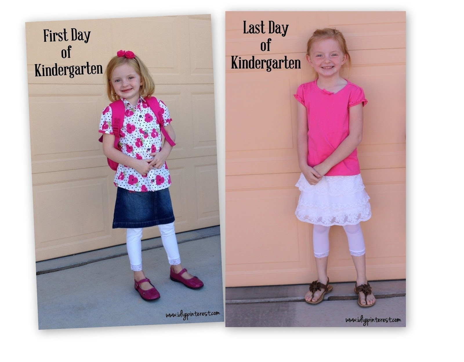 10 Spectacular First Day Of Kindergarten Picture Ideas fun first day of school traditions i dig pinterest 1