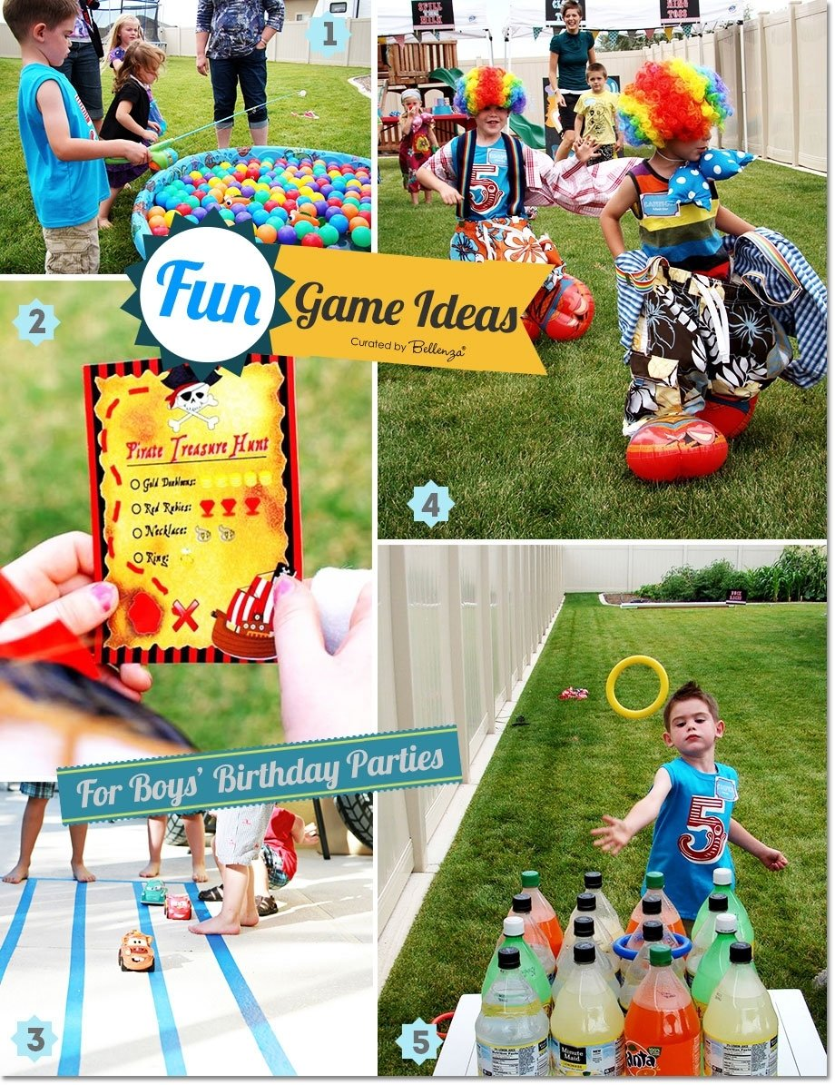 fun games and activities for boys' birthday parties