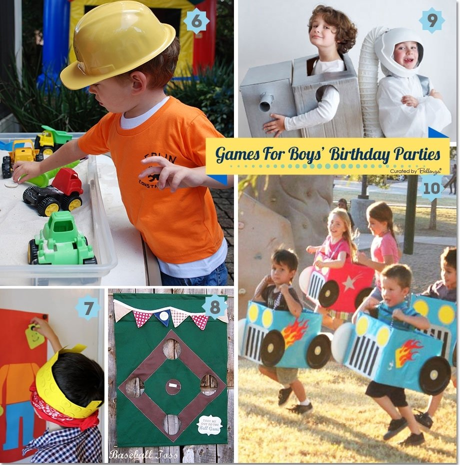 10 Stylish Birthday Party Game Ideas For Toddlers fun games and activities for boys birthday parties 2 2020