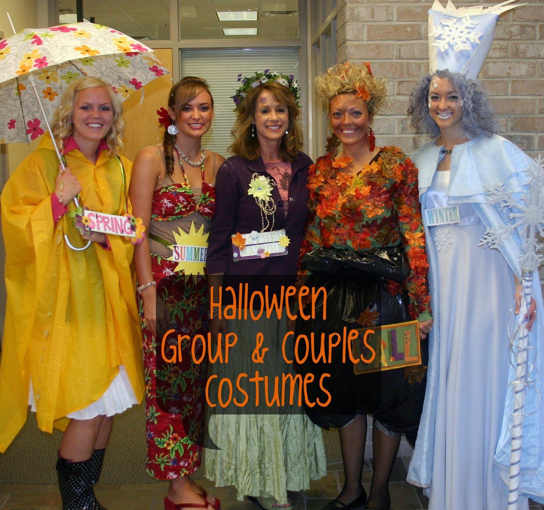 10 Trendy Group Of 4 Halloween Costume Ideas fun group and couples halloween costume ideas 30 days of halloween 2020