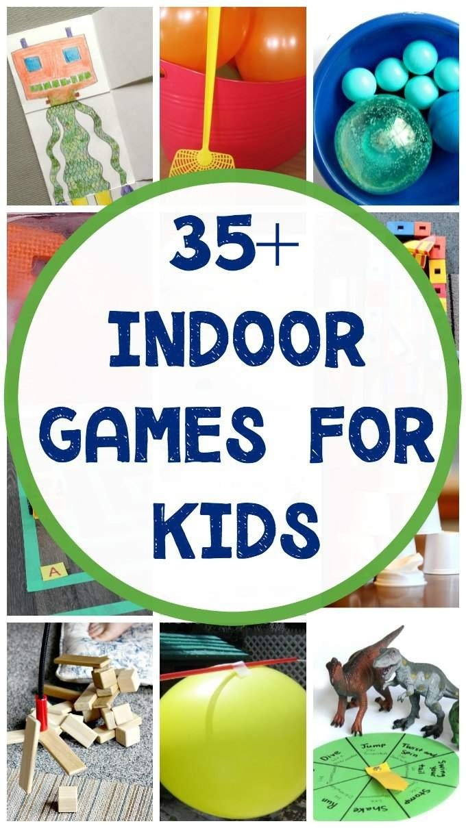 10 Fashionable Fun Game Ideas For Kids fun indoor games for kids when they are stuck inside 2020