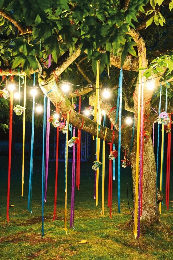 fun outdoor birthday party décor ideas | outdoor birthday parties