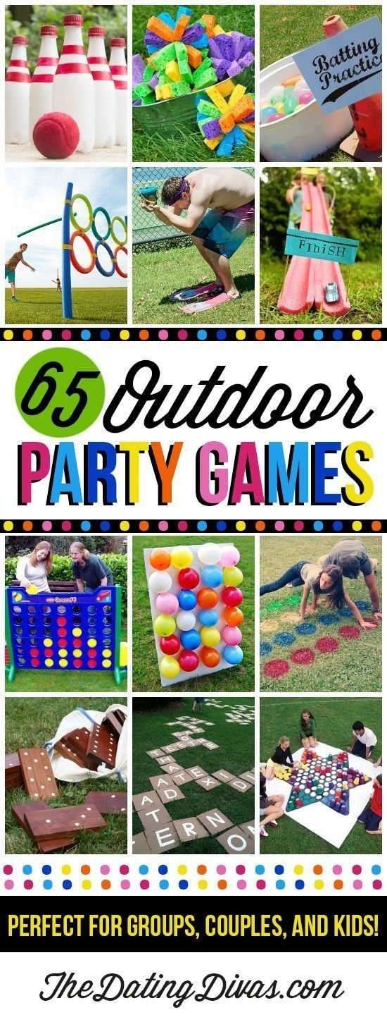 10 Attractive Birthday Game Ideas For Kids fun outdoor games for the entire family family reunions summer 2020