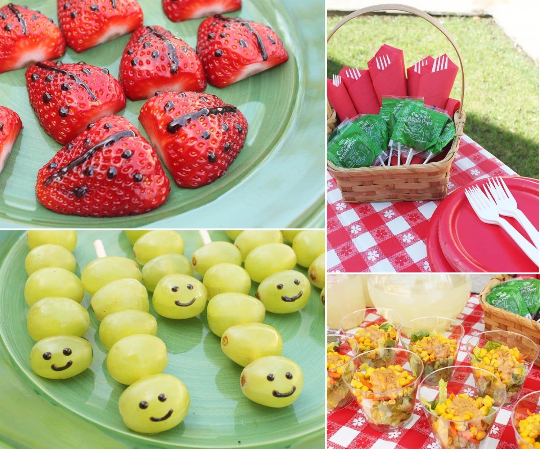 fun picnic snacks | snacks, picnics and snacks kids