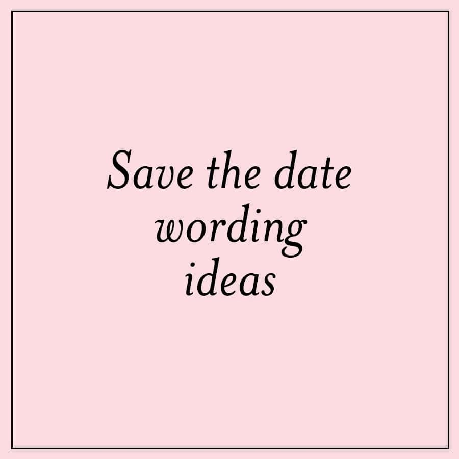 fun save the date wording ideas | custom invitations, unique wedding