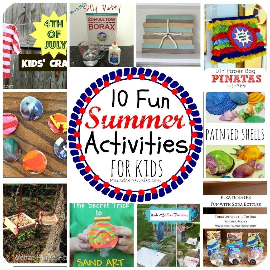 fun summer camp activities for kids | summer camp activities