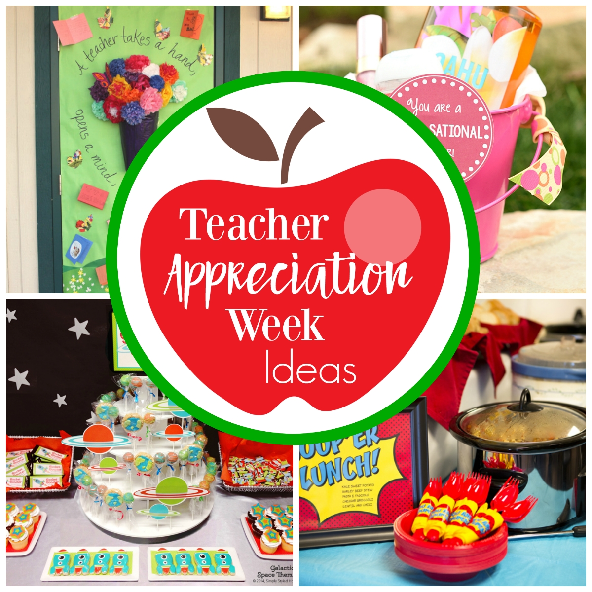 10 Fabulous Ideas For Teachers Appreciation Week