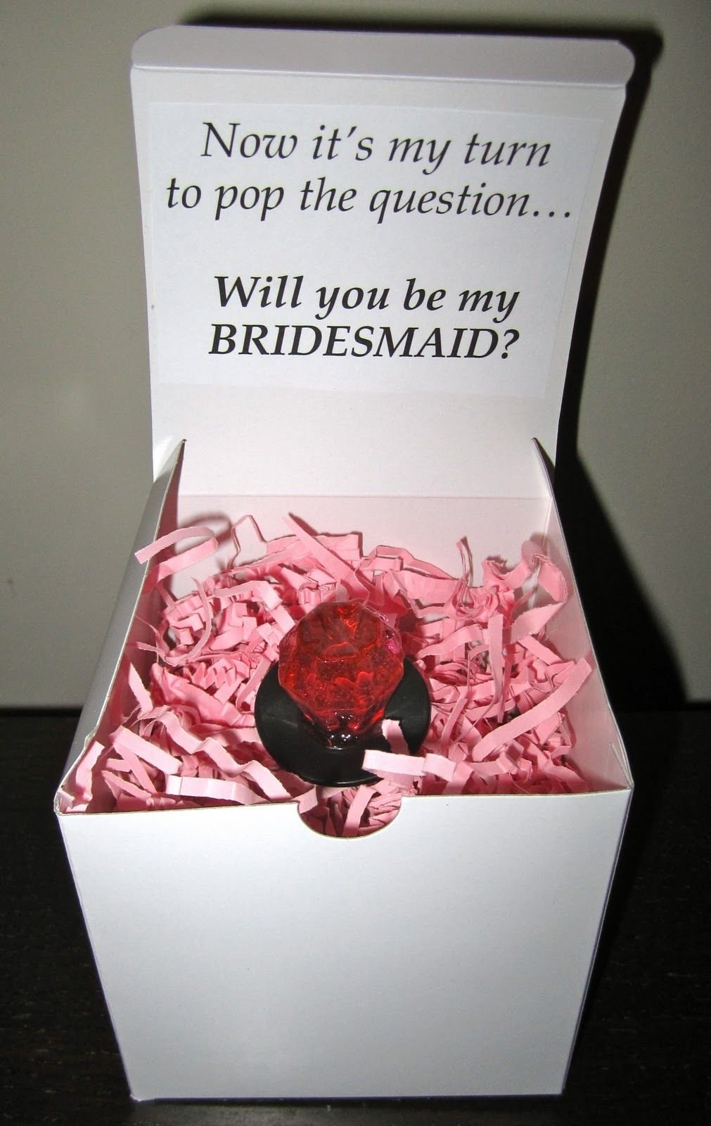 Stunning Ways To Ask Bridesmaid To Be In Wedding Pictures - Styles ...