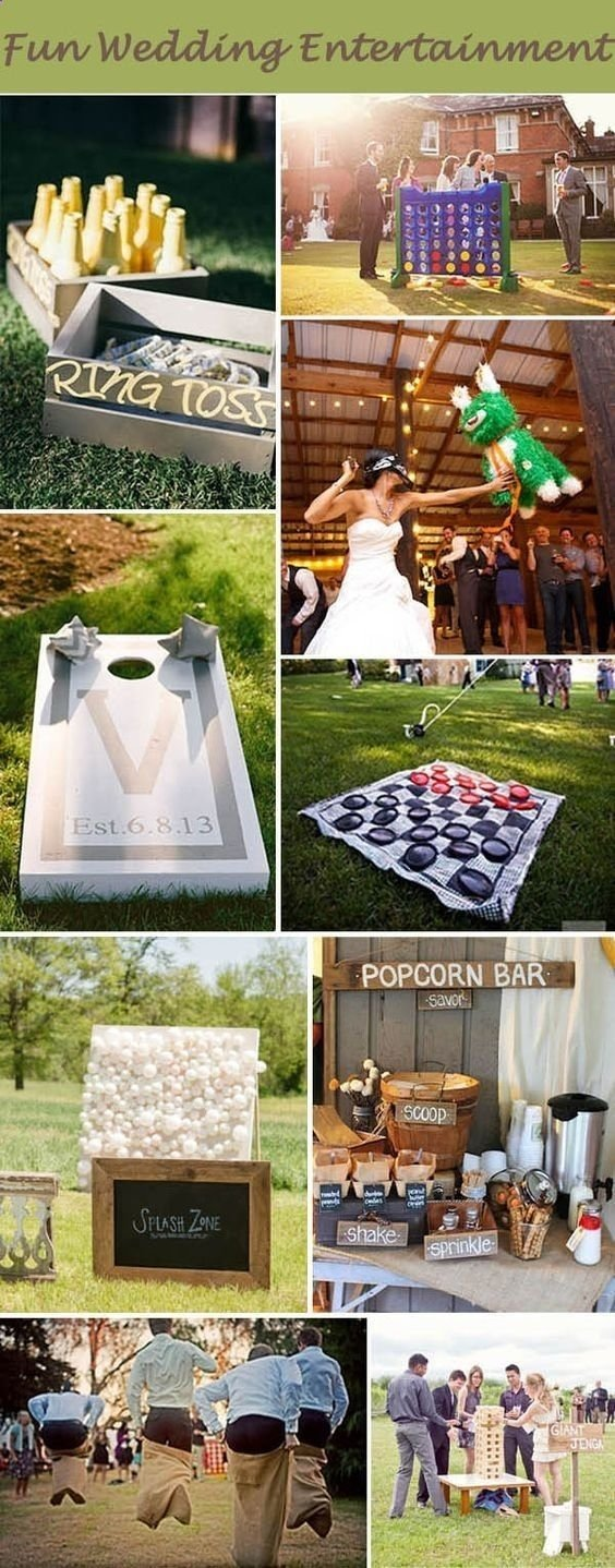 10 Ideal Wedding Ideas For Small Weddings fun wedding entertaining activites for intimate and small weddings 2021