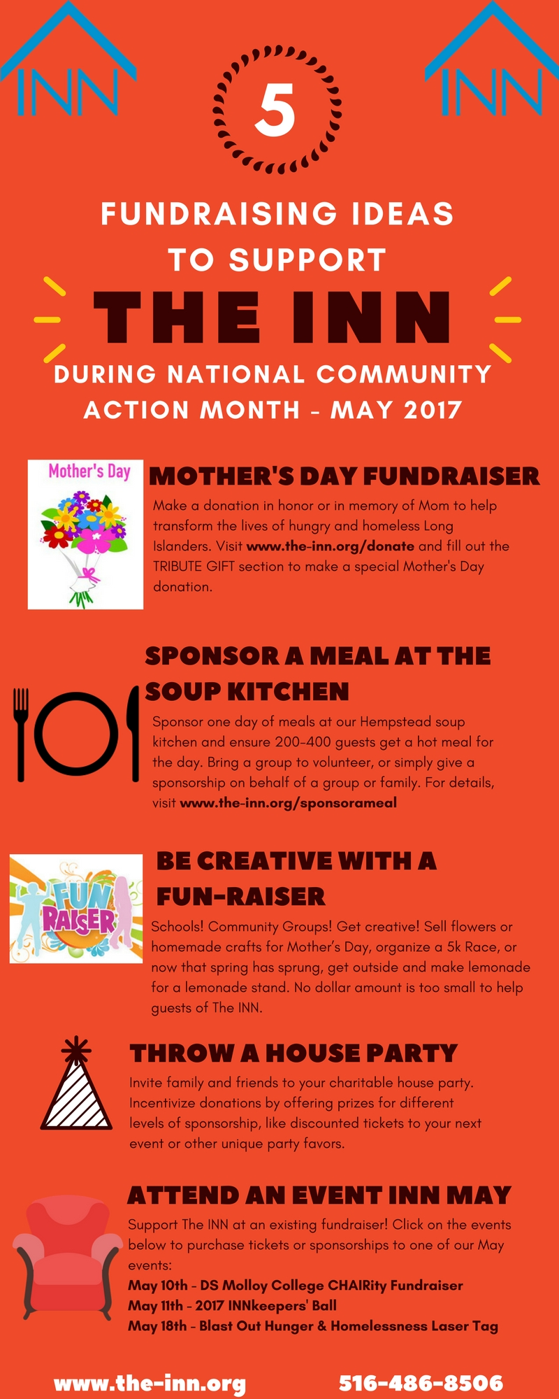 10 Lovely Fundraiser Ideas For Small Groups fundraising ideas for national community action month the inn 2020