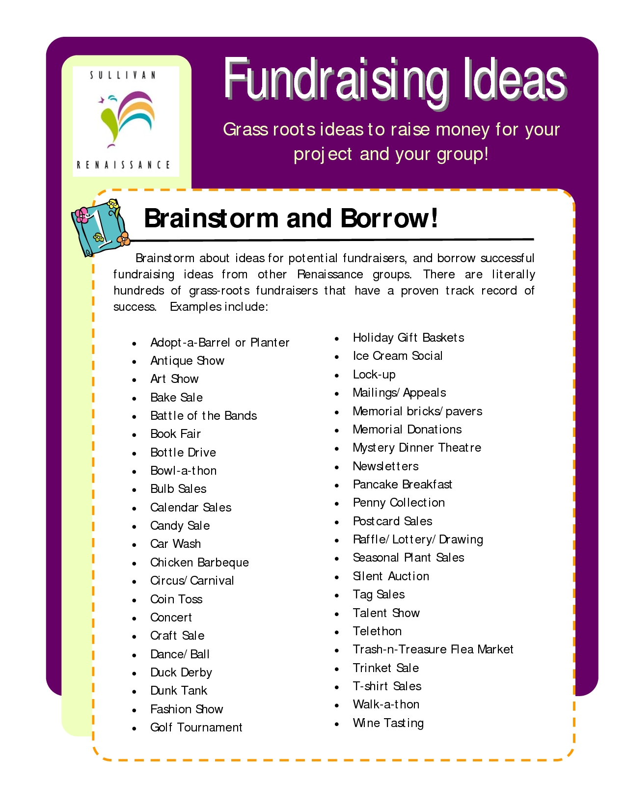 10 Famous Fundraising Ideas For School Clubs fundraising ideas grass roots ideas to raise money for your cause 12 2020