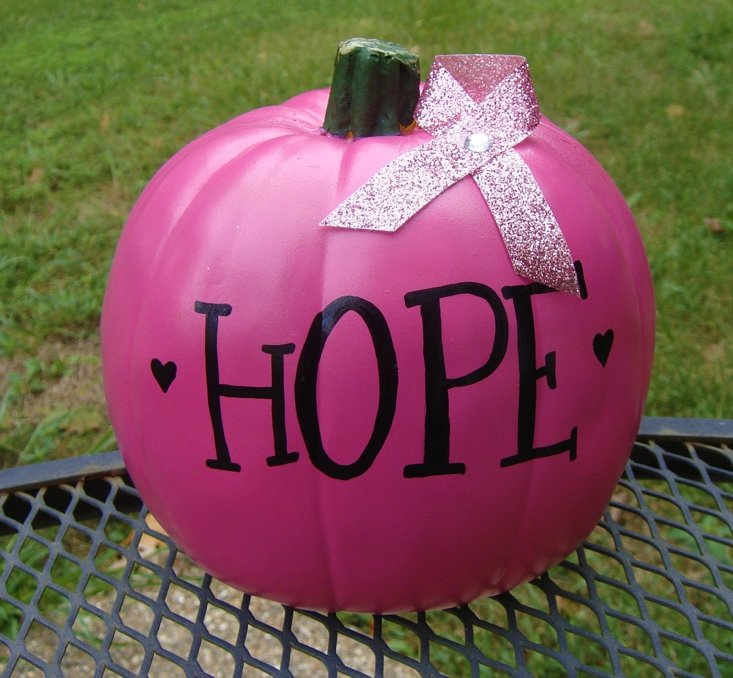 fundraising ideas: pink pumpkins | karen's avon walk for breast