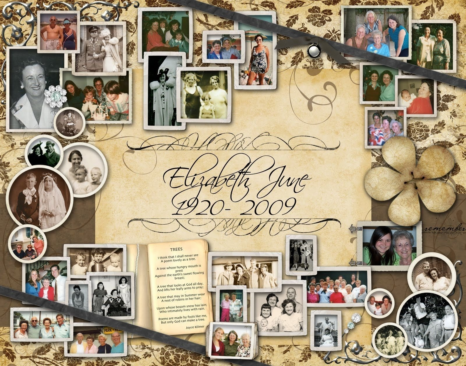 10 Most Popular Ideas For A Memorial Service funeral picture collages google search just for me pinterest 2021