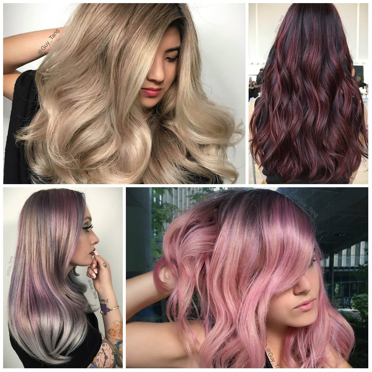 10 Perfect Funky Hair Color Ideas For Brunettes funky hair color trends 20 with funky hair color trends with 2021