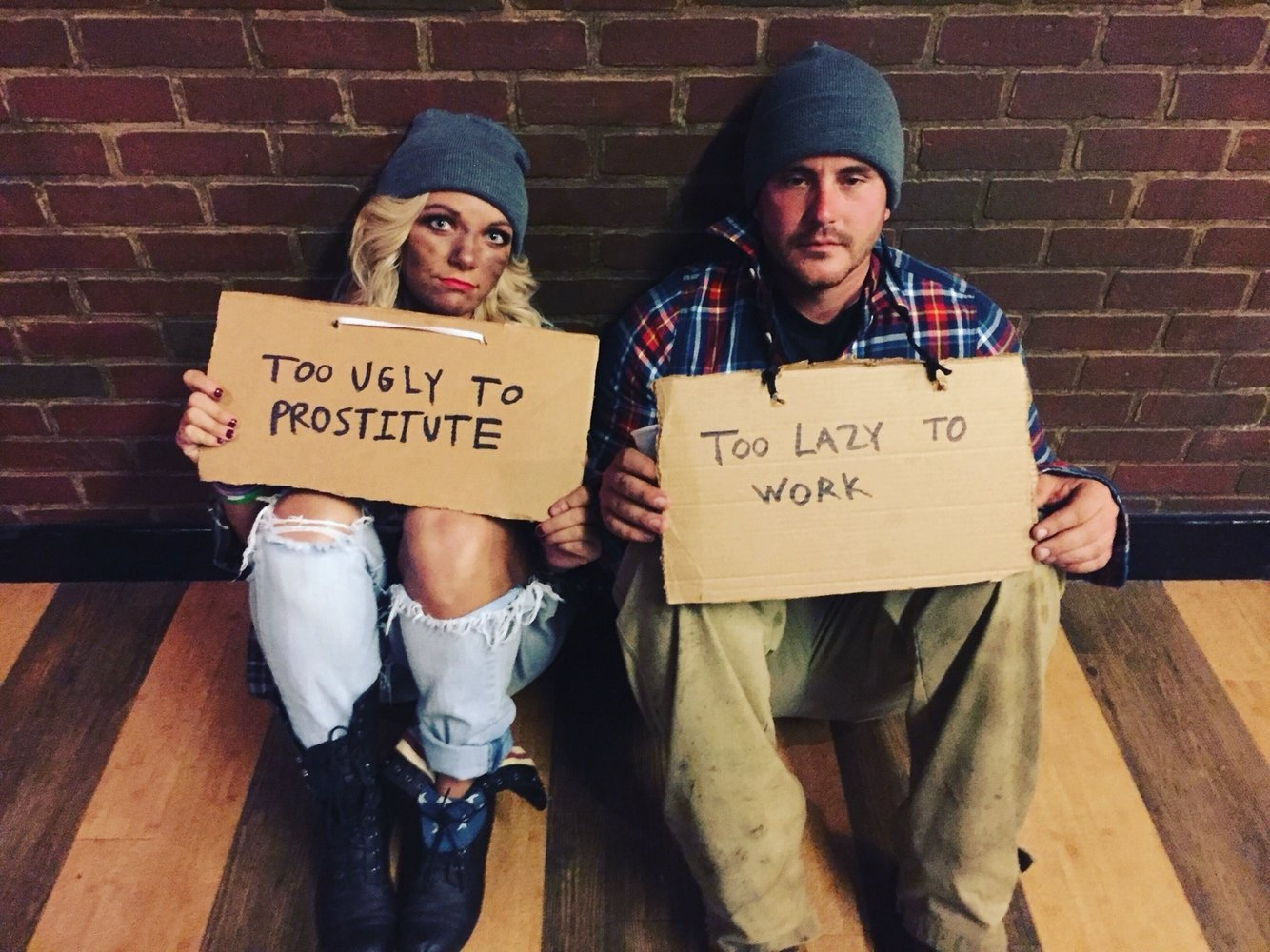 10 Pretty Cheap Funny Halloween Costumes Ideas funny couples costumes holidays pinterest funny couple 4 2020