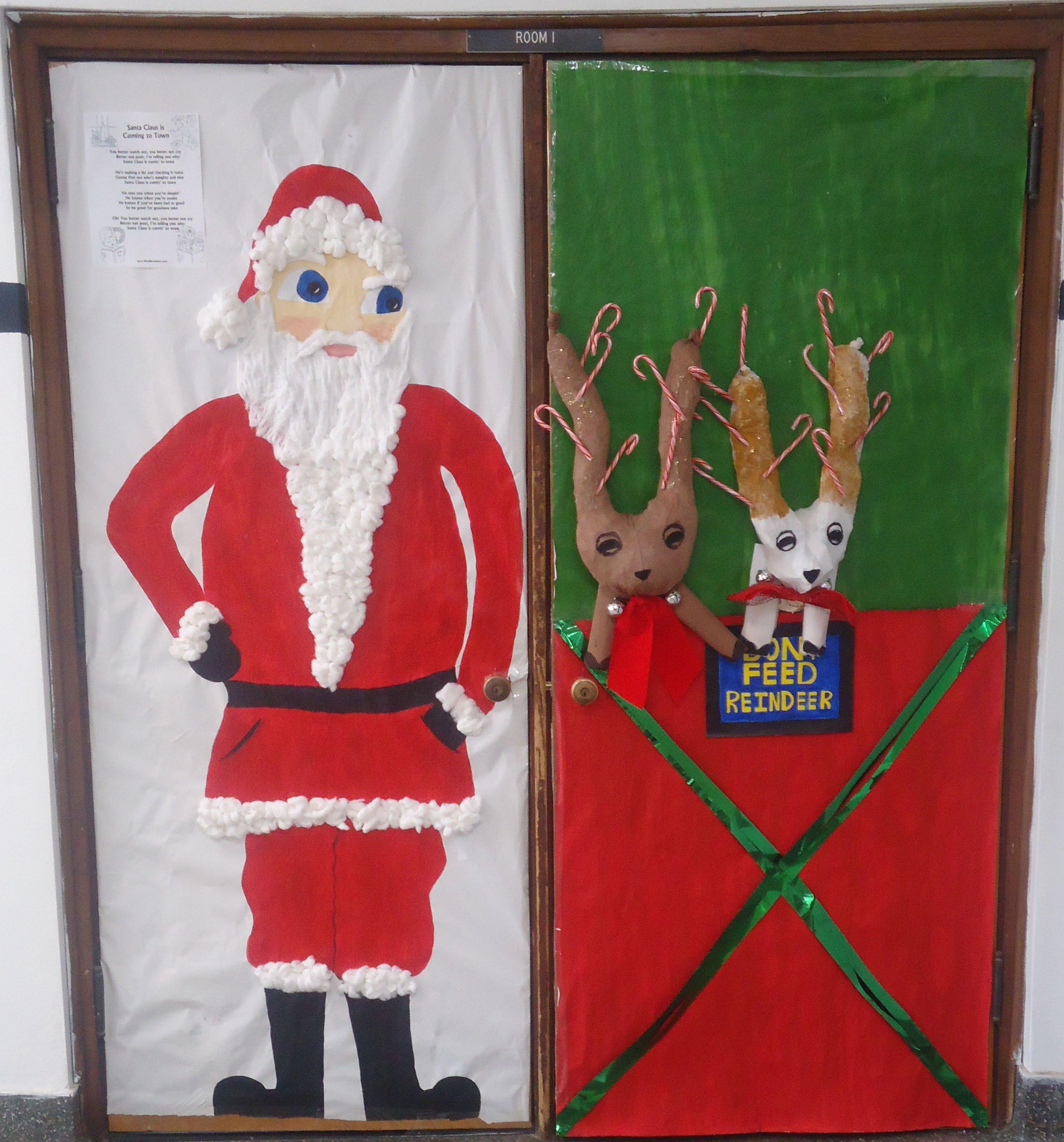 10 Amazing Funny Christmas Door Decorating Contest Ideas funny decorated christmas doors decorations ideas door decorating 2021