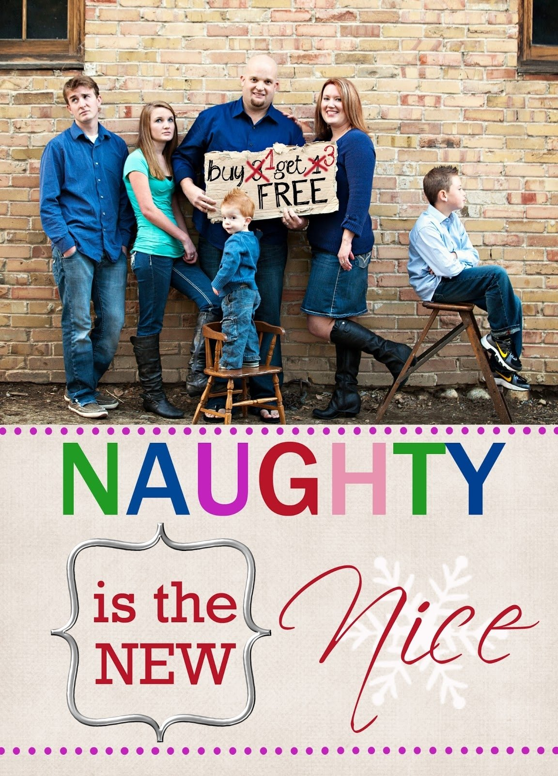 10 Ideal Funny Family Christmas Photos Card Ideas