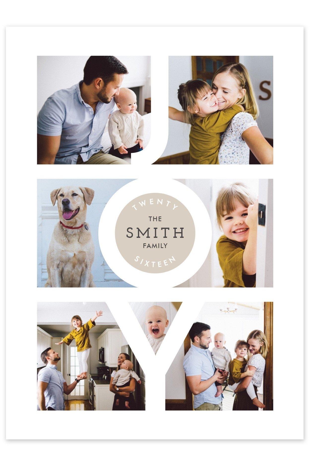 10 Fashionable Family Christmas Card Photo Ideas