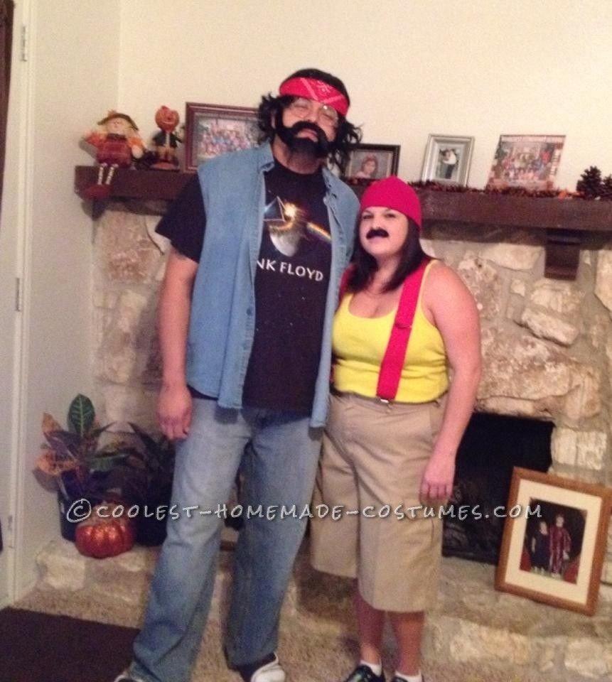 10 Elegant Last Minute Funny Costume Ideas funny last minute couples costume idea cheech and chong couple 2021