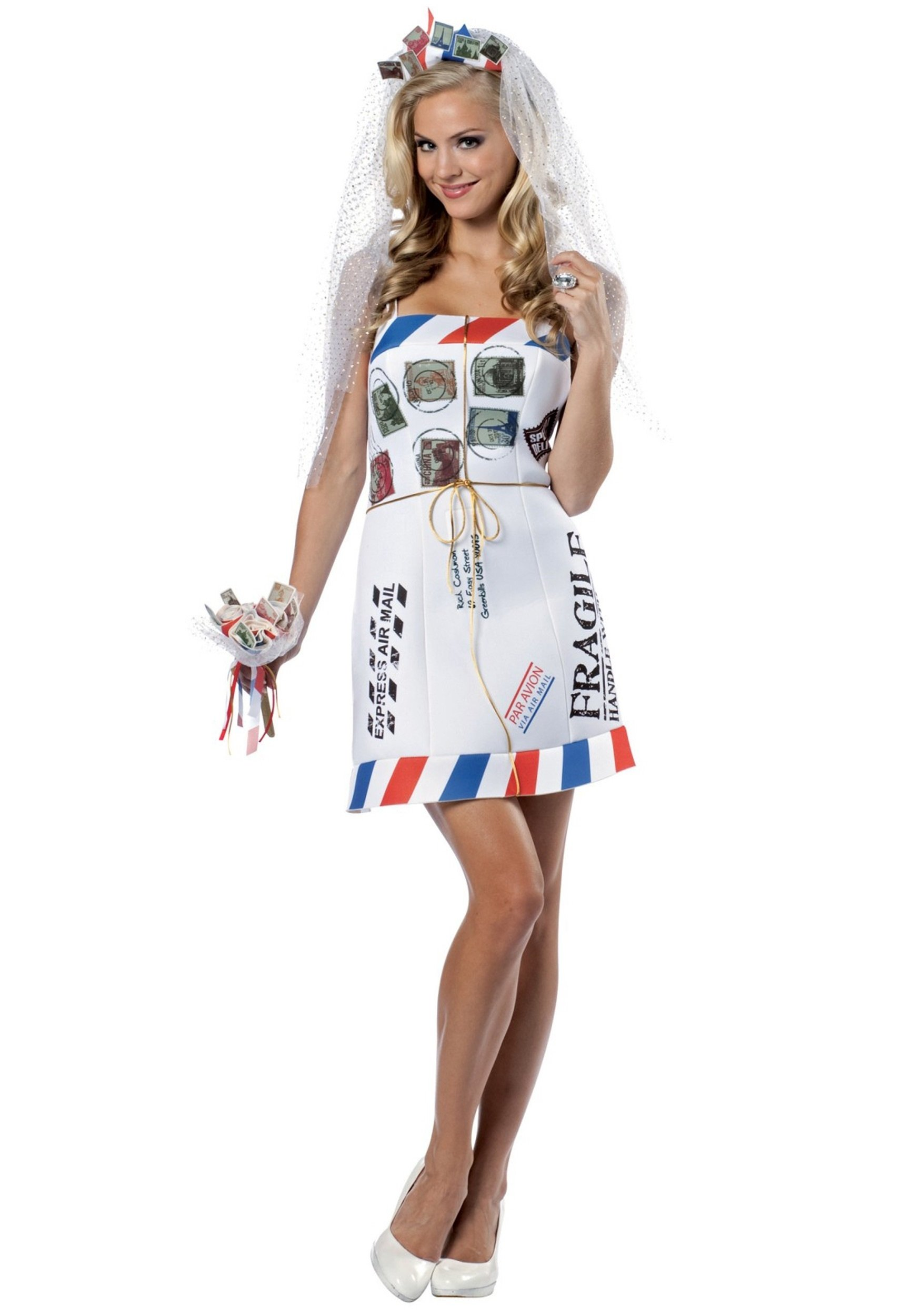funny mail order bride costume - funny halloween costume ideas for women