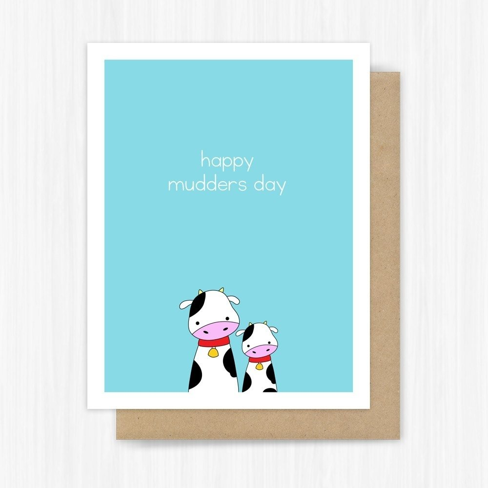 10 Perfect Cute Mothers Day Card Ideas funny mothers day card cow pun handmade greeting mama bear 2020