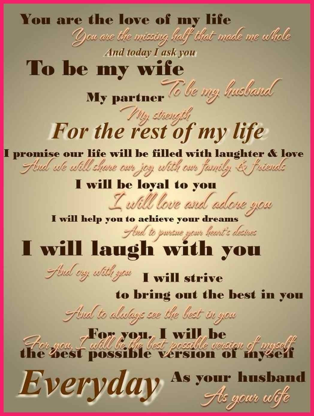 10 Famous Wedding Vow Ideas For Her funny wedding vows for him bio letter format 2020