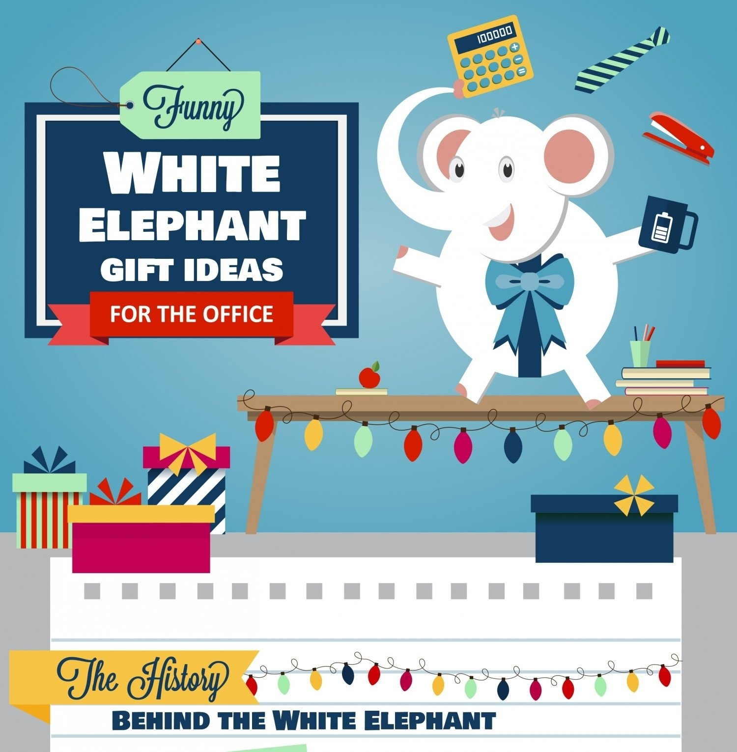 10 Unique Gift Ideas For The Office funny white elephant gift ideas for the office visual ly 2020