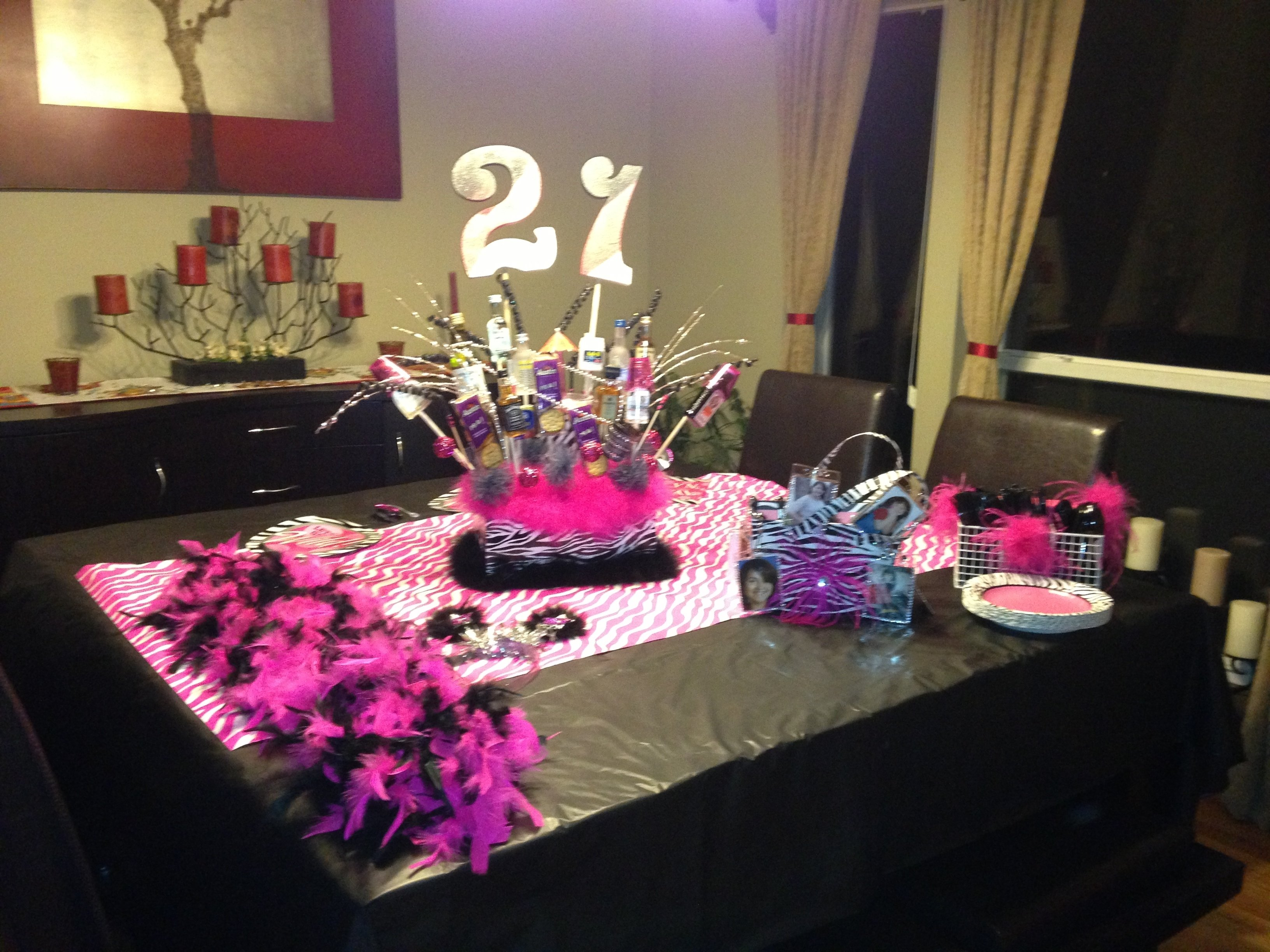 10 Pretty Ideas For 21St Birthday Party furniture 21st birthday party table setup planningentertaining 2020