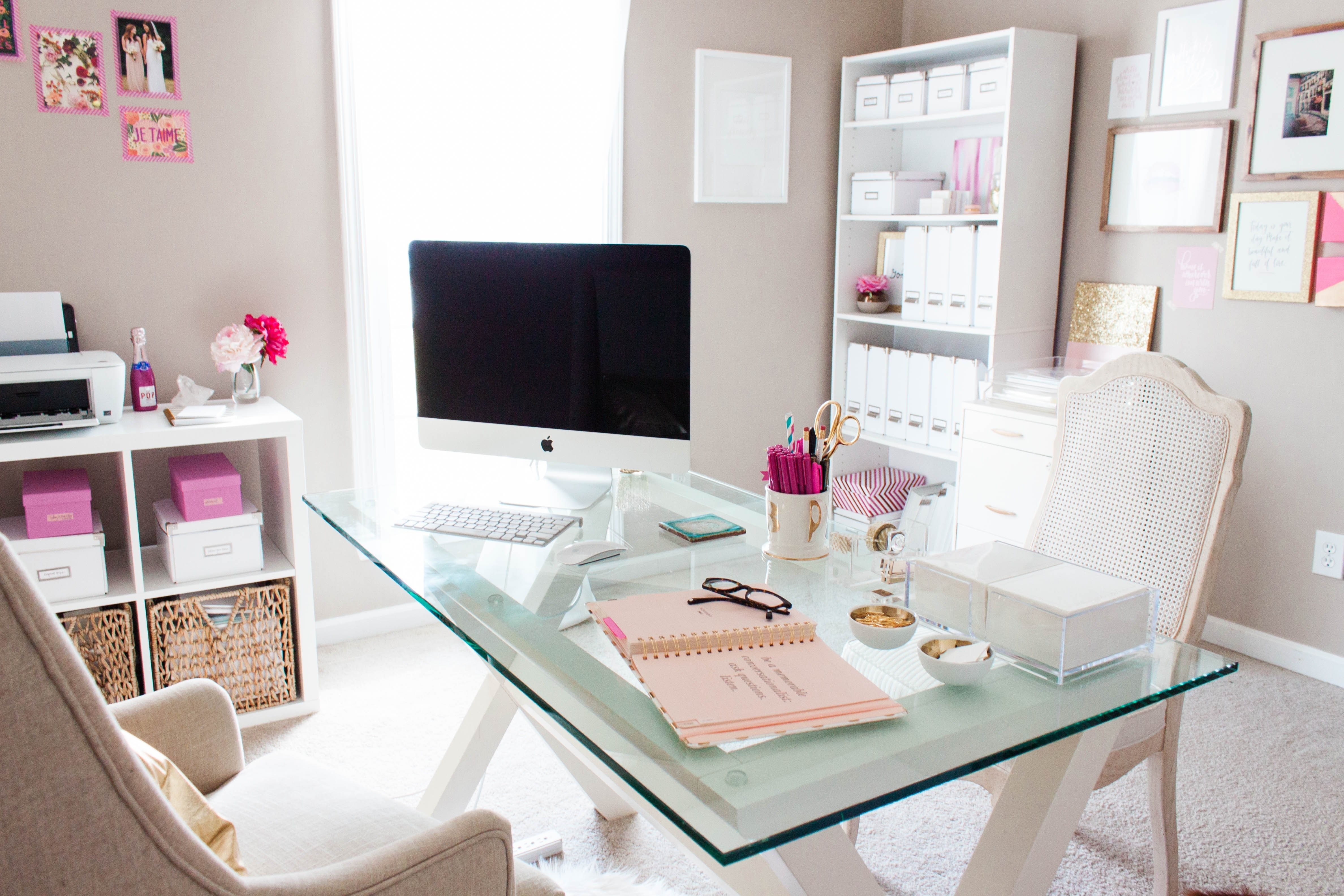 10 Gorgeous Ideas For Working At Home furniture contemporary office desk home office desk office desk best 2020