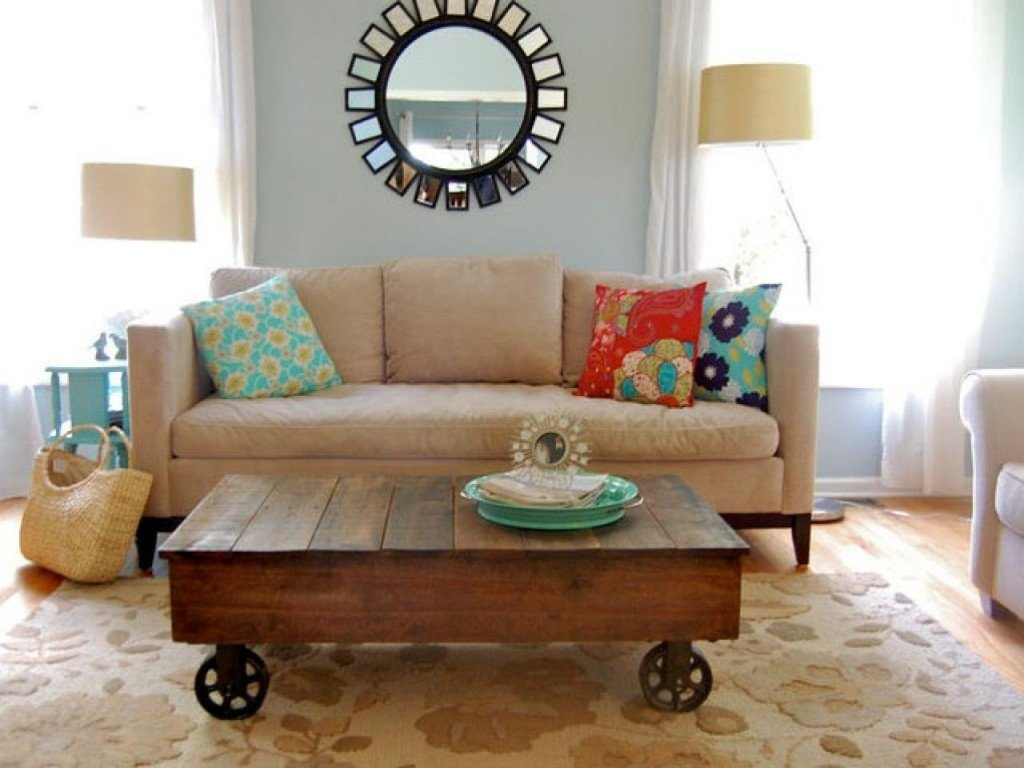 furniture home: a diy coffee table diy living room decorating. diy